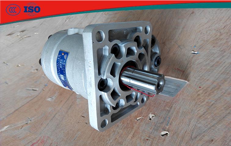 長源液壓CBT-F550-BFH攪拌車液壓齒輪泵
