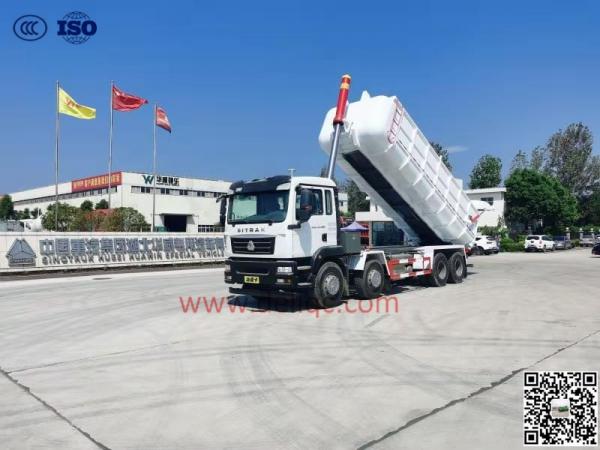 汕德卡(國六)25方萬博登錄自卸車