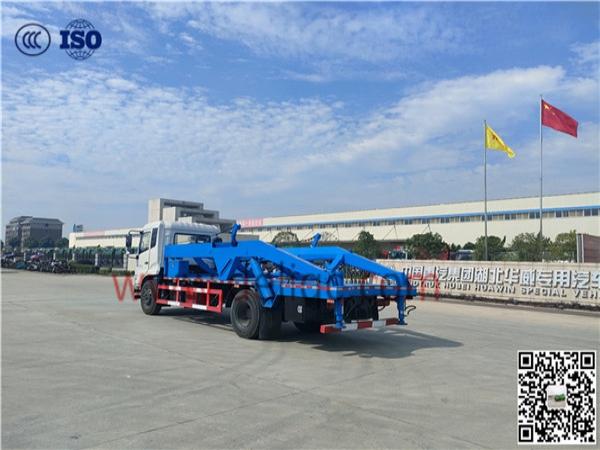 東風天錦(國六)油田背罐車