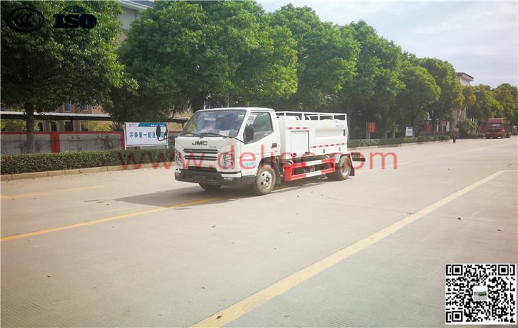 江鈴SGZ5040GQXJX6(國六)方廂清洗車