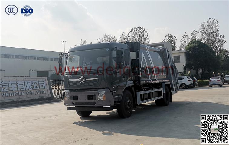 東風天錦(國六)14方壓縮垃圾車